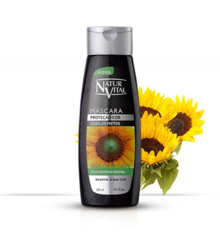 NyV Mascarilla Coloursafe C/Negro 300 ml