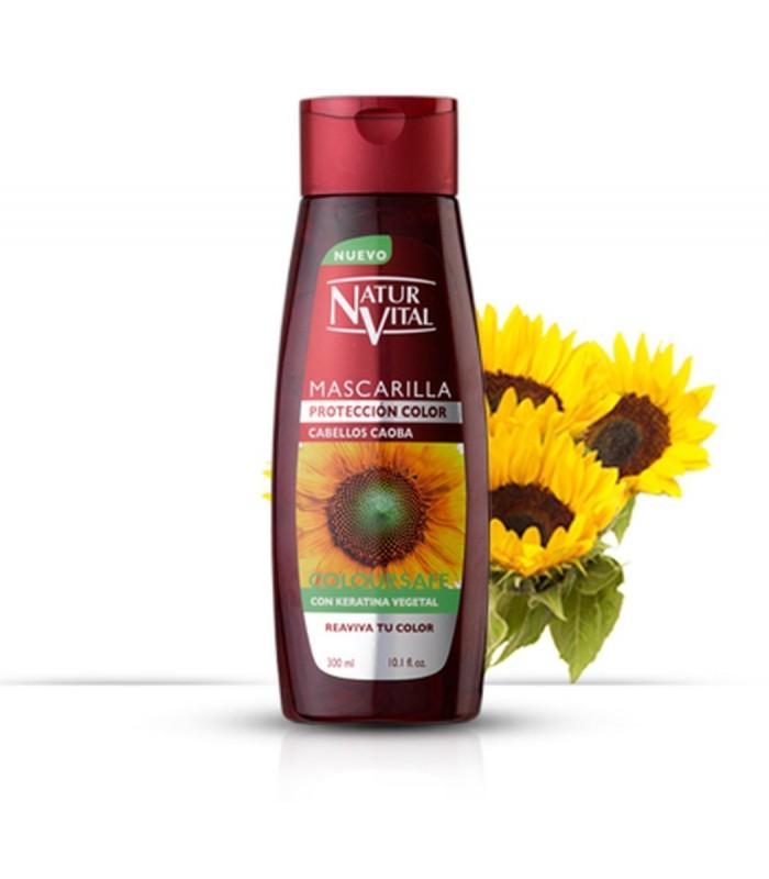 NyV Mascarilla Coloursafe C/Caoba 300 ml