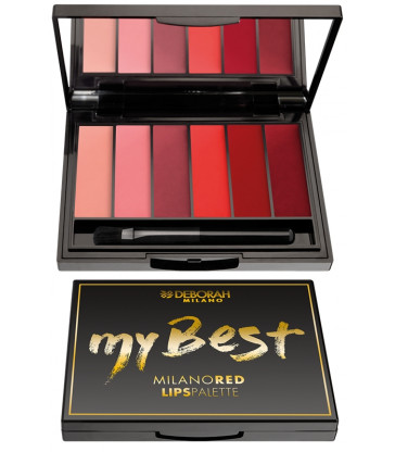Deborah Paleta Labios My Best Milano Red
